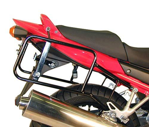 Hepco&Becker Portaequipajes lateral atornillado – negro para Suzuki GSF 650 / S Bandit con ABS hasta año de fabricación 2006
