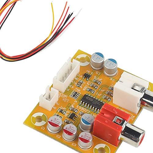 DAC Sabre ES9023 Analog I2S 24 Bit 192 kHz Decoder Board一Modul für Raspberry Pi