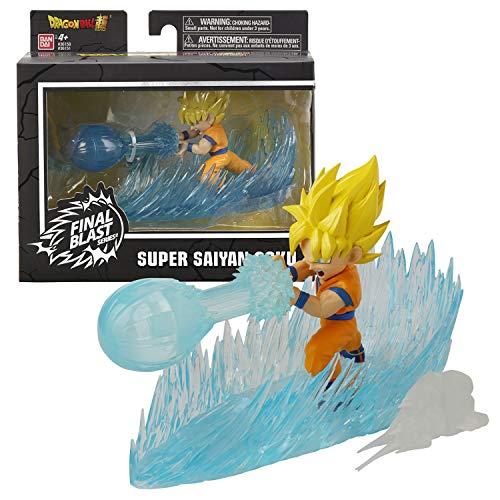 Dragon Ball-36151 Figura Goku Super Saiyan Final Blast Series (Bandai 36151), Multicolor
