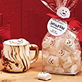 Two's Company Snowman Marshmallow Candy in Gift Bag