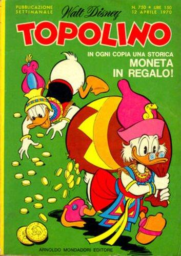 TOPOLINO LIBRETTO N.750