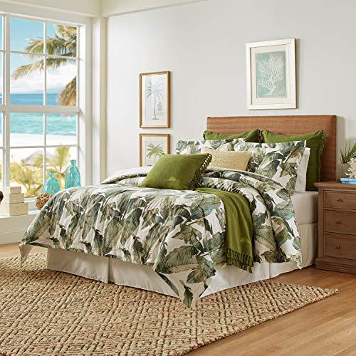 Tommy Bahama Fiesta Palms Comforter Set, California King, Green