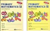 Singapore Primary Math grade 1 WORKBOOK SET--1A and 1B