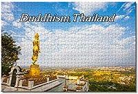 大人のためのタイ仏教ジグソーパズル子供子供1000ピース木製パズルゲームギフト用家の装飾特別な旅行のお土産