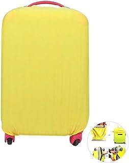 WINOMO – Capa elástica para bagagem de viagem, mala de viagem, capa protetora à prova de poeira para 45,7 – 76,2 cm