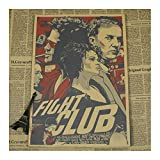 Plakat Fight Club Film Brad Pitt Edward Harrison Norton