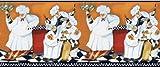 Chefs-A-Cookin Decorative Wallpaper Border by Jennifer Garant