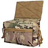 Tactical Dump Drop JPC CPC Bag AVS Chaleco con Gancho y Lazo Multicamo Tool Pouch para Airsoft Hunting Skirmish Sports al Aire Libre