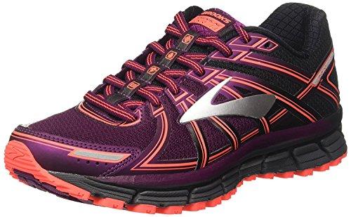 Brooks Women's Adrenaline ASR 14 Running Shoe, Black/Ebony/Pickled...
