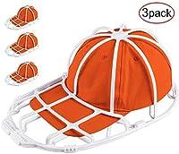 Der Rose 3 Pack Hat Washer Baseball Hat Cleaner Cap Washer Hat Washing Cage Holder Frame for Washing Machine