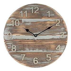 51pKDWgpJoL._SS300_ Coastal Wall Clocks & Beach Wall Clocks