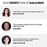 Qualia Night   Enhance Natural Sleep for Adults   Support Deep Refreshing Sleep, Recovery, and Brain Performance   80 Capsules - Month Supply