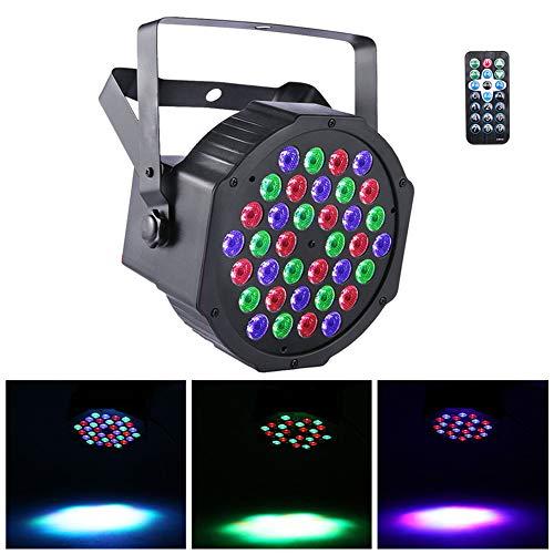 UKing LED Par Scheinwerfer DMX Lichter RGB 36 LED Beleuchtung mit Fernbedienung LED Strahler Party Lichteffekte für DJ Disko Partylicht Club