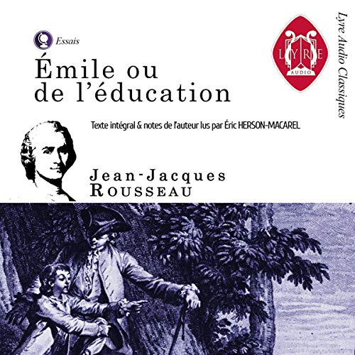 Émile ou de l'Education Audiobook By Jean-Jacques Rousseau cover art