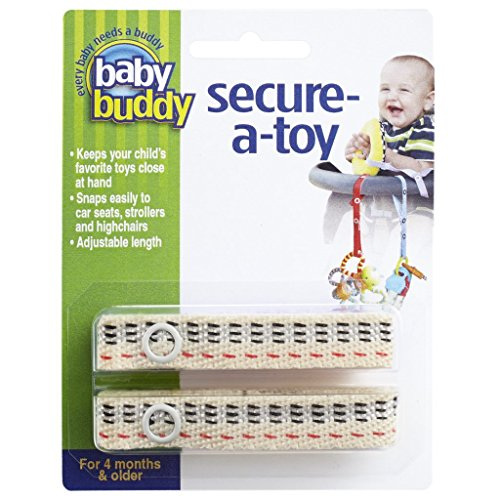 Baby Buddy Secure-A-Toy 2 pièces