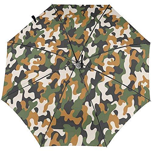 ATU-1217 Reise-Regenschirm mit Tarnmuster und Sonnenschutz