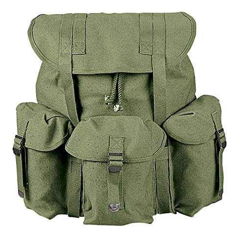 Rothco Canvas G.I. Style Soft Pack, Olive Drab