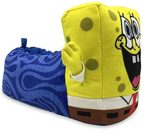 Squarepants Spongebob Kinder Plüsch Hausschuhe