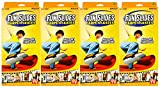 Fun Slide Set of 4 Carpet Skates! Fun Inside and Out! AS SEEN ON TV! (4 Pairs of Skates)
