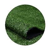 Césped Artificial Alfombra ecológica 15 mm de Espesor Army Green Children's Paradise YNFNGXU (Size : 2mx1m)