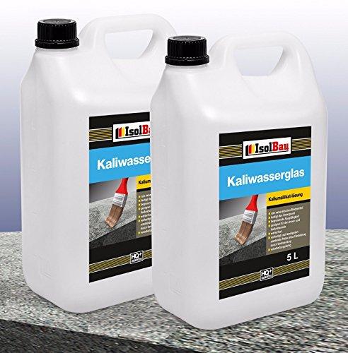 10 Liter Kaliwasserglas 28/30° Haftgrund Grundierung Wasserglas Versiegelung Mauerabdichtung Betonfrostschutz Untergrund