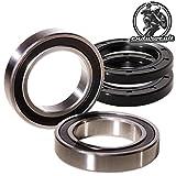 Endurocult - Juego de rodamientos de rueda delantera compatible con SX-F/EXC-F/TC/TE/FC/FE/RR 125/200/250/300/350/400/450/500