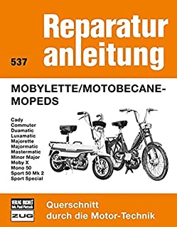 Mobylette / Motobecane - Mopeds: Caddy, Commuter, Duamatic, Luxamatic, Majorette,