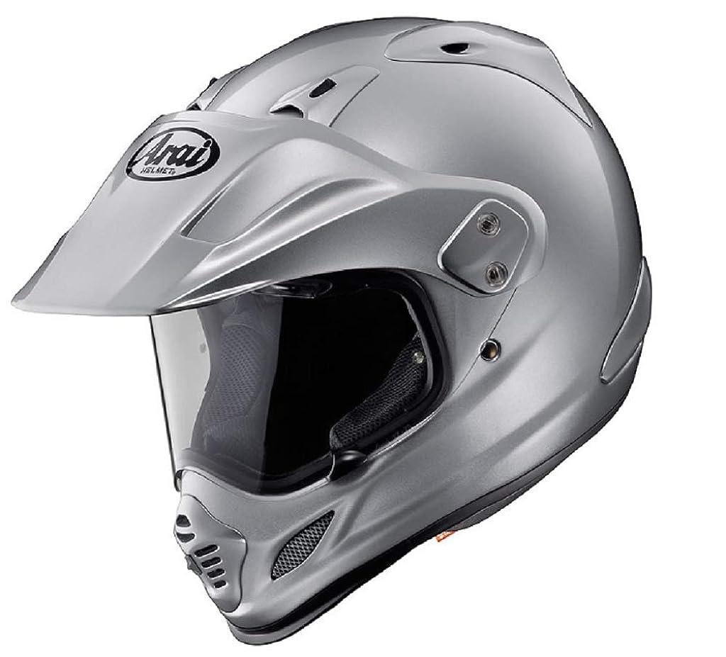 クリスチャン雄弁家始めるアライ(ARAI) バイクヘルメット オフロード TOUR-CROSS 3 アルミナシルバー XL 61-62cm