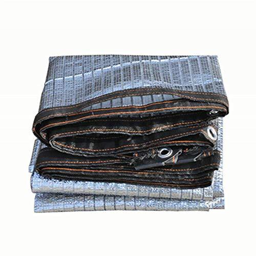 MYMAO 01Aluminum Foil Shade Net Zonnebrandcrème Net voor Beveiliging Raam Zonnekamer Balkon Top Raam Sill Tuin Buiten