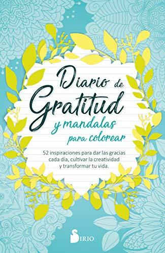 Diario de Gratitud y Mandalas para Colorear