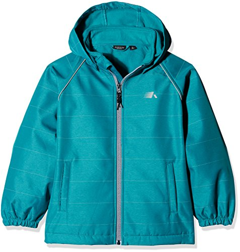 NAME IT Jungen 13148714 Softshelljacke , Blau (Lake Blue), 92