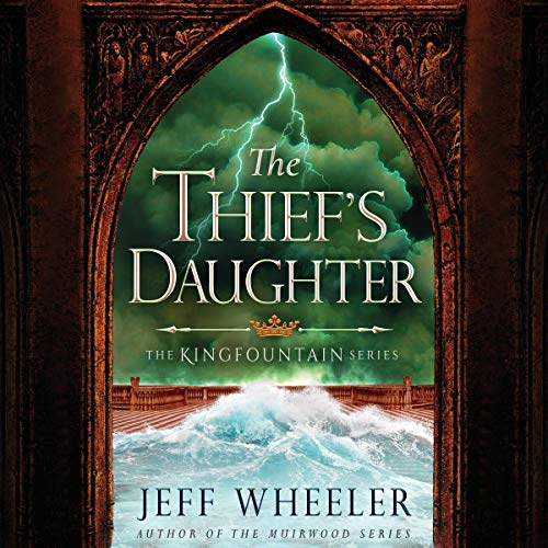 The Thief's Daughter audiobook cover art