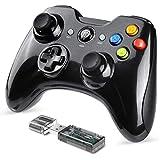 便利さ スイッチ用ワイヤレスコントローラー、ゲームコントローラーゲームパッドジョイパッドリモートジョイスティック、ニンテンドースイッチコンソールサポートスイッチプロおよびWindows 7/8/10用 (Color : Wireless Joystick Black+Black)