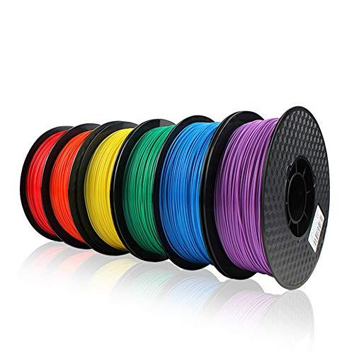 XHLLX Filament pour Imprimante 3D PLA Plus, Filament en PLA 1,75 Mm, Odeur De Filament pour Impression 3D Faible, Précision Dimensionnelle +/- 0,02 Mm, Filament en Bobine 3D