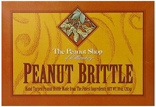 The Peanut Shop of Williamsburg Homestyle Brittle Box, 10 oz