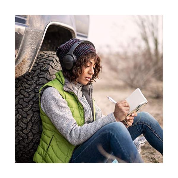 Tire Lady bose quietcomfort 35 ii wireless bluetooth headphones, noise-cancelling, with alexa voice control – black