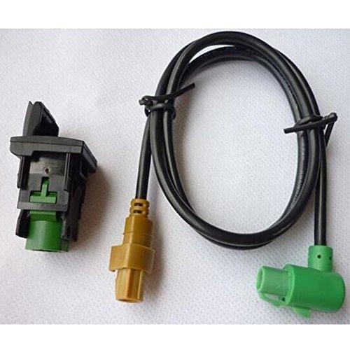 310USB Switch + RCD510 Faisceau de Fil RNS315 RCD510 USB Câble de Commutateur pour VW MK6 Golf 6 Scirocco Jetta