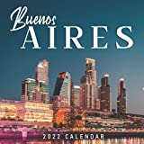 "Buenos Aires 2022 Calendar: From January 2022 to December 2022 - Square Mini Calendar 8.5x8.5"" - Sma..."