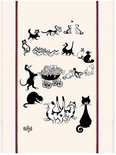Torchon Les Chats de Debout - Multichats