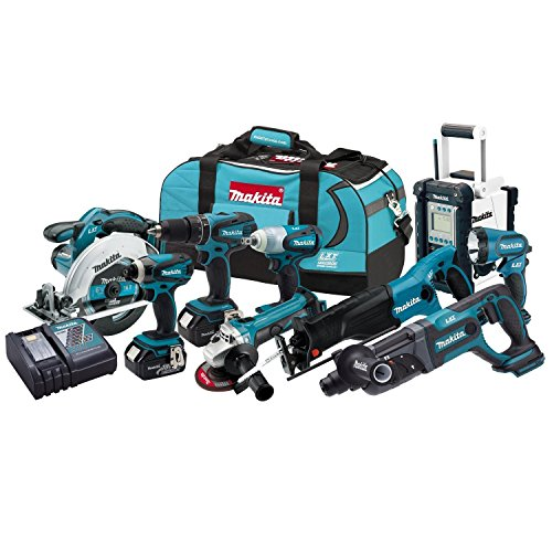 Find Discount Makita – LXT902 – Lxt 9 Pc Combo Kit