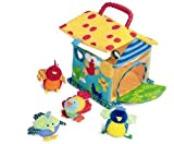 Manhattan Toy Put and Peek Birdhouse Soft Activity Toy