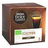 Nescafé Dolce Gusto Absolute Origin Colombia Sierra Nevada Lungo, cápsulas de café, café Tostado, Bio, 60 cápsulas