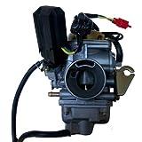 GLENPARTS NEW Carburetor for ETON YUKON 150 150cc ATV Quad Four Wheeler Carb