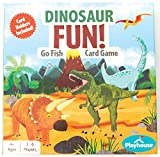 Playhouse Dinosaur Go Fish! Card Game with Claw Shaped Easy Card Holders