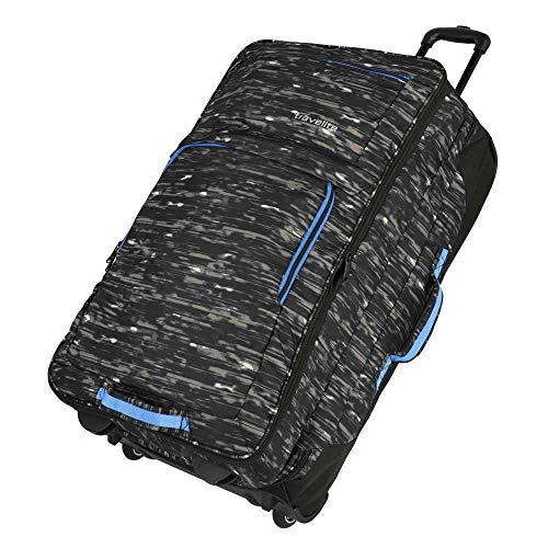 Travelite Basics Reisetasche auf Rollen 78 cm schwarz Druck