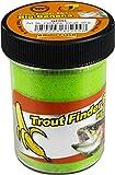 TFT FTM Trout Finder Bait Big Banana Glitter Pasta 50 g Verde - Flotante para pesca de truchas
