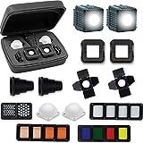 Lume Cube 2.0 - Pro Kit de iluminación portatil profesional, color negro