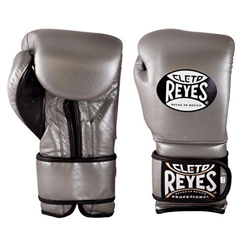 Cleto Reyes CE616L Guantes de Entrenamiento, Unisex Adulto, Plateado, 16 oz