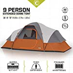 CORE 9 Person Extended Dome Tent - 16' x 9' 7