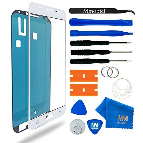 MMOBIEL Kit de Reemplazo de Pantalla Táctil Compatible con Samsung Galaxy J7 J710 (2016) (Blanco) Incl. Kit Herramientas